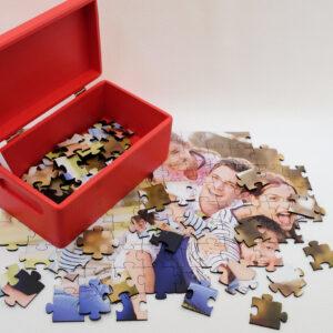 Puzzle personalizat + cutie