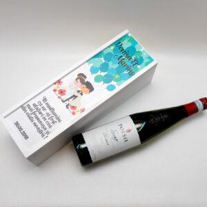 Cutii depozitare sticla vin