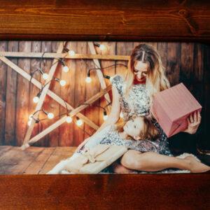 Tablou pe lemn - foto print