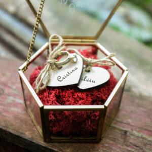 Cutie verighete / inel logodna